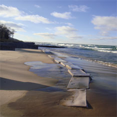 Beach Erosion Solution, Stop Beach Erosion, Rebuild Beach, Sandsaver