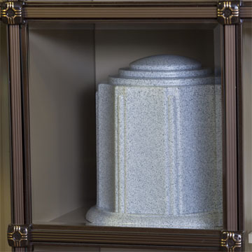 Water Tight Burial Urn, Burial Urn, Combination Urn Vault, Theft Deterrent Urn, Cremation Urn, Theft Deterrent Burial Urn